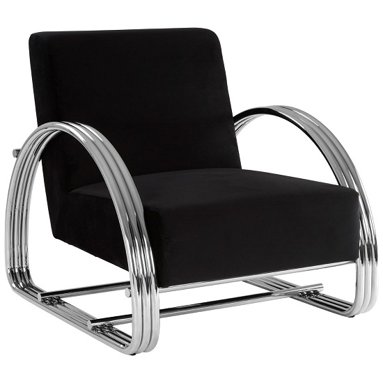 Markeb Leisure Chair In Black       _1