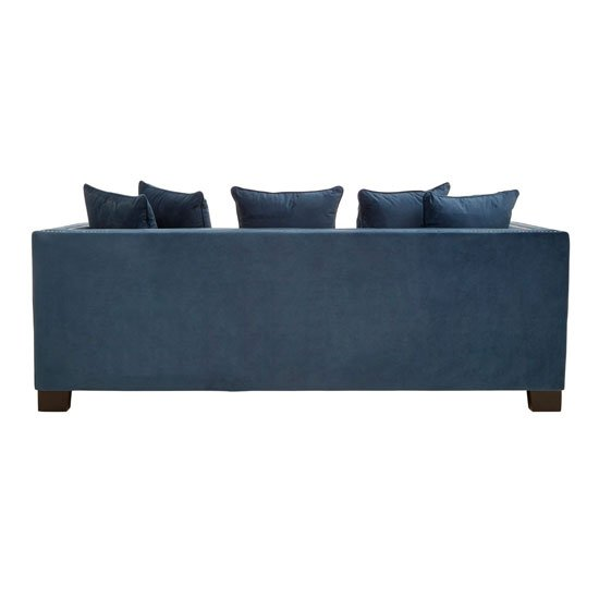 Pipirima 3 Seater Velvet Sofa In Midnight_2