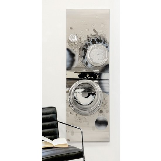 Planets Canvas Oil Painting In Wooden Frame With Aluminium Trims