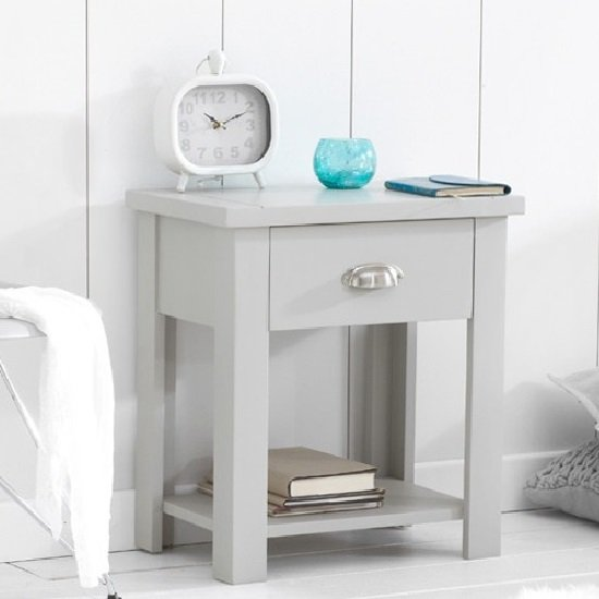 Abbey Coffee Table High Gloss White With 2 Pull Out Drawers: Monaco White Finish Bedside Cabinet With 2 Drawers 22844 Fur