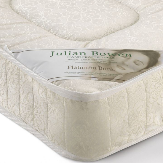 View Platinum low profile single bunk mattress