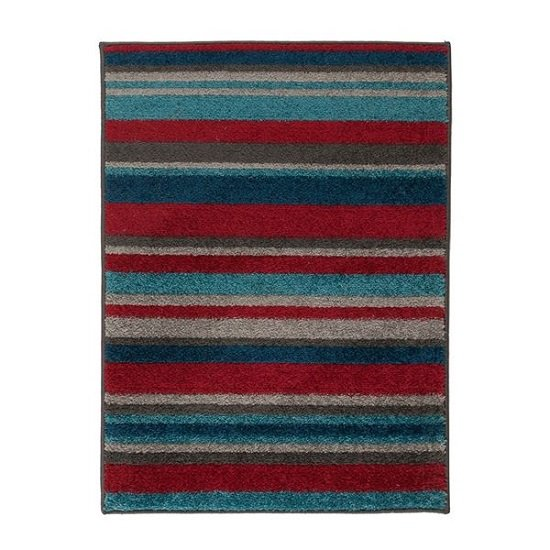 Play Days Rocket Stripes Color Rug