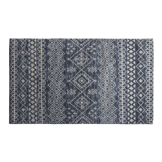 Plaza Extra Large Fabric Upholstered Rug In Dark Teal
