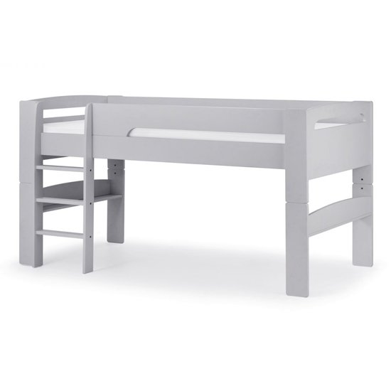 Pluto Dove Grey Bunk Bed With Chest Of Drawers And Study Desk_2