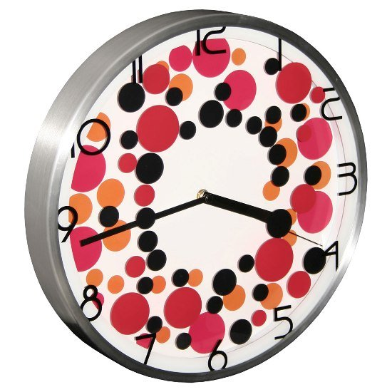 Pop Art Wall Clock Bcl41 4824 Furniture In Fashion
