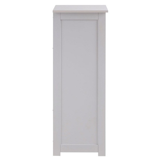 Portern 4 Drawers Cabinet In White