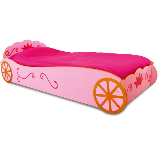 Read more about Princess childrens car bed