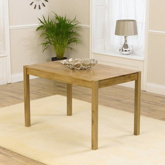Promin Small Wooden Dining Table In Oak