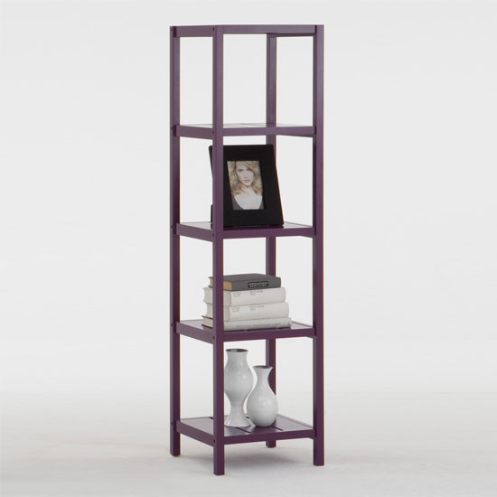 5 Tier Purple Display Stand, Bob5