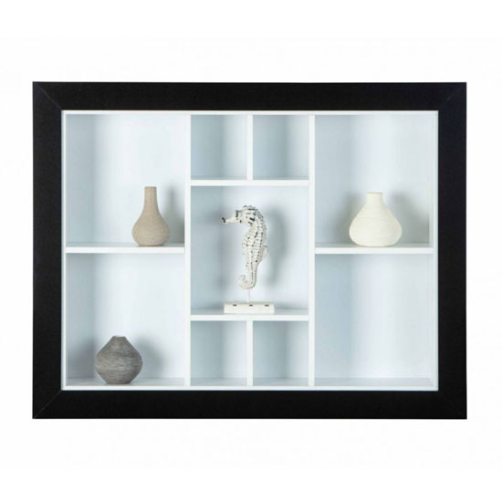 Quarium Wooden Display Cabinet In Black And White_2