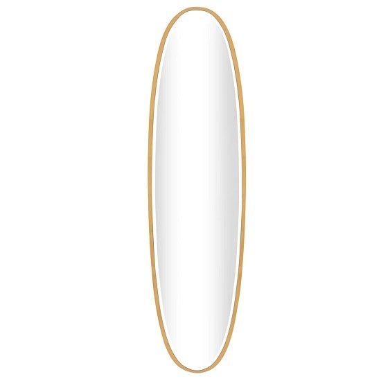 Rabea Contemporary Oval Wall Mirror