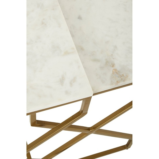 Rabia Set Of 2 Nesting Side Tables With White Marble Top_5