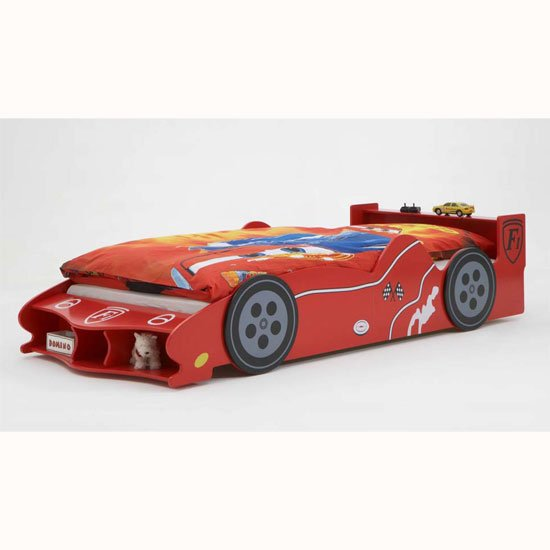 Racer Children Bed In Red Colour