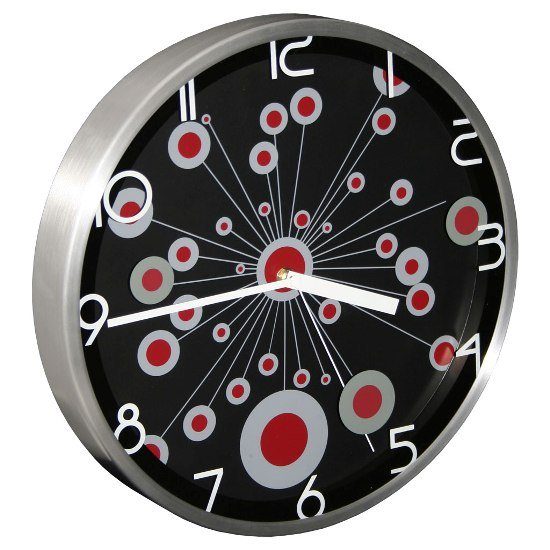 Radial Wall Clock