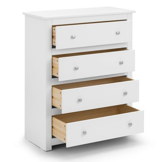 Radley Chest Of Drawers In Surf White With 4 Drawers_3