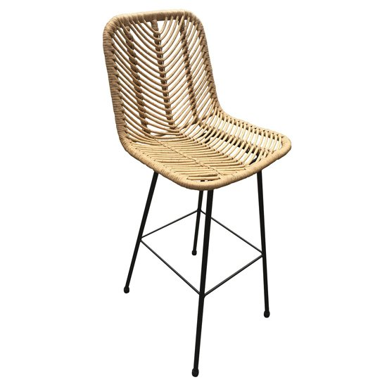 Rafferty Wooden Bar Stool
