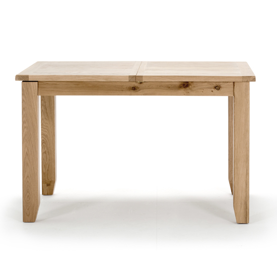 Ramore Fixed Wooden Dining Table In Natural