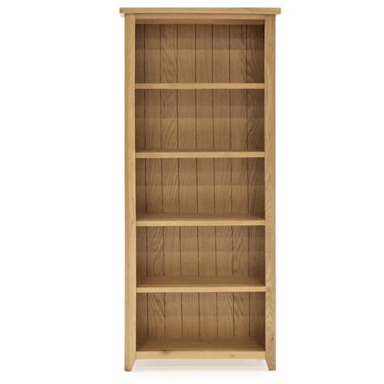 Ramore Large Wooden Bookcase In Natural