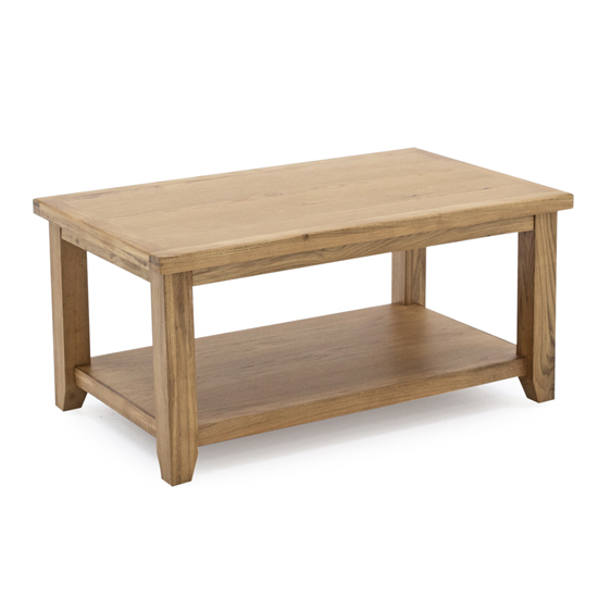 Ramore Wooden Coffee Table In Natural