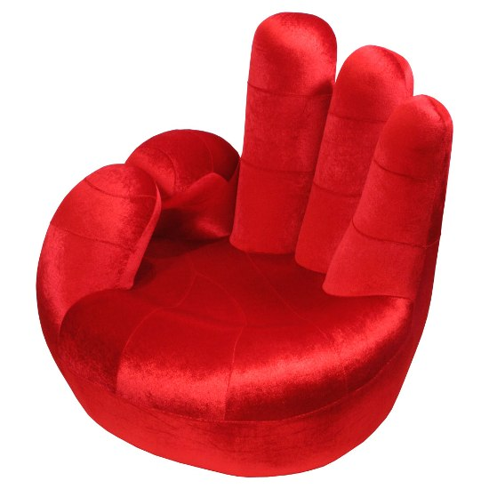 red hand chair fu127r - How To Decorate A Youth Room