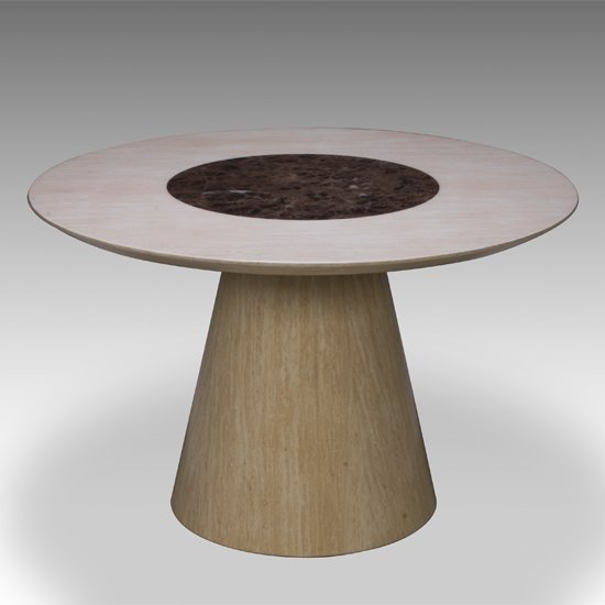Retro Round Marble Dining Table Only 15673 Furniture in