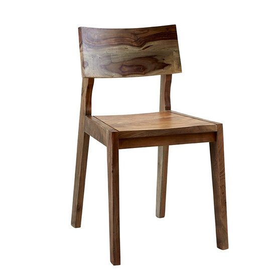 Reverso Two Tone Oak Wooden Dining Chairs In Pair_2