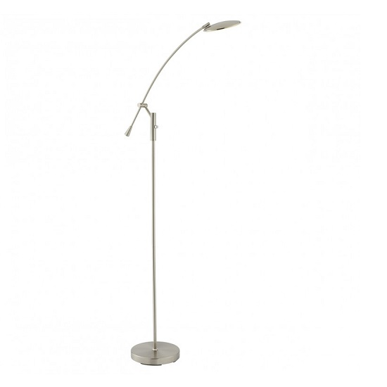 Rico Adjustable Warm White LED Floor Lamp