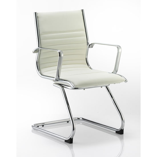 Ritz Ivory Cantilever Office Chair