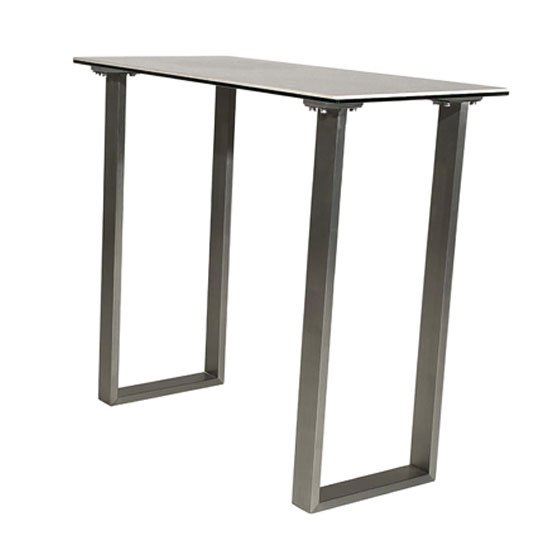 Rocca Ceramic And Glass Console Table With Steel Base