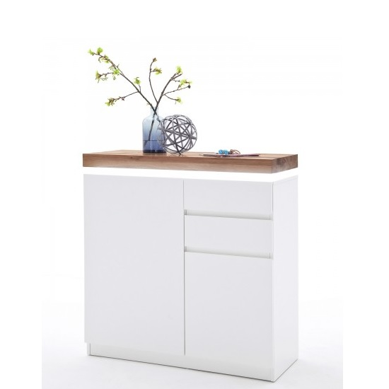 Knotty White Oak Cabinets: Romina Shoe Storage Cabinet In Knotty Oak And Matt White