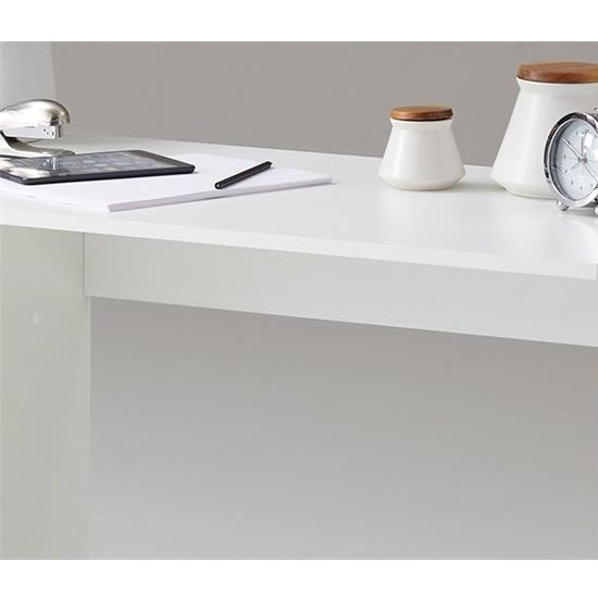 Rosemary Contemporary Computer Desk In White And Black_4