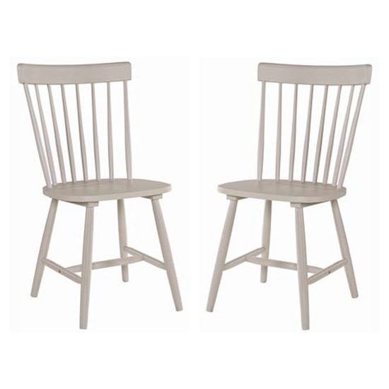 Rotanev Stone Grey Dining Chairs In Pair