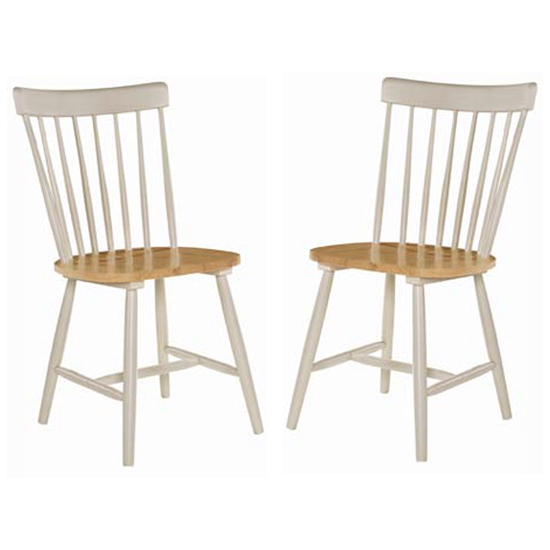 Rotanev Stone Grey And Oak Dining Chairs In Pair_1