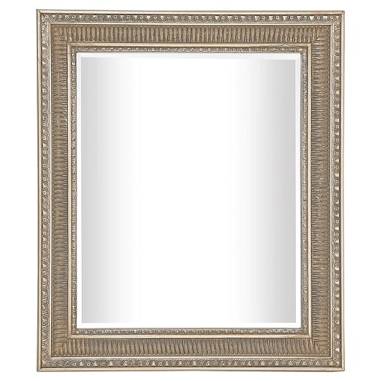 Rovicon Wall Mirror Rectangular In Bronze Finish