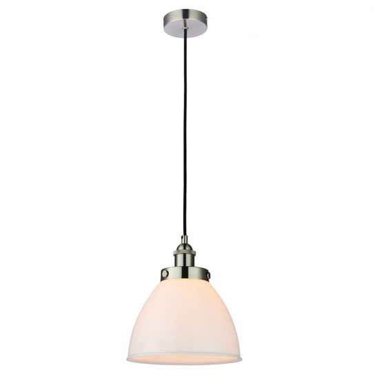 Rowan Wall Hung Pendant Light In White