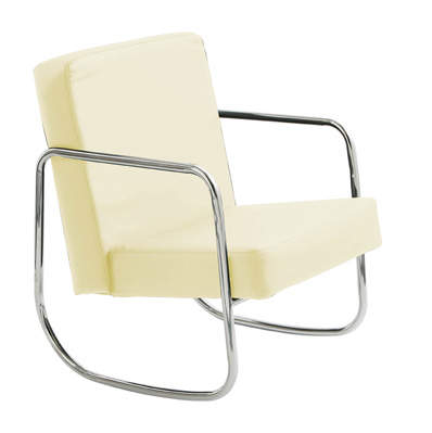 Florida Swivel Recliner Chair Leather With Foot Stool In Whi