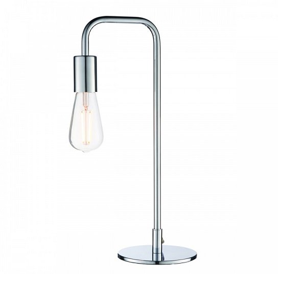 Rubens Table Lamp In Chrome Finish