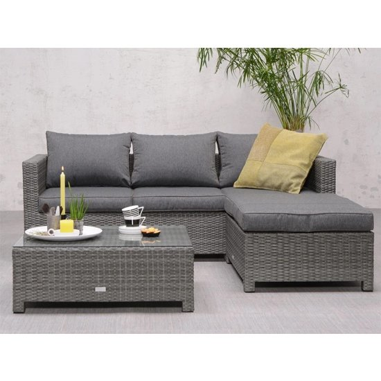Rudesole Sofa Group With Coffee Table In Organic Grey_2