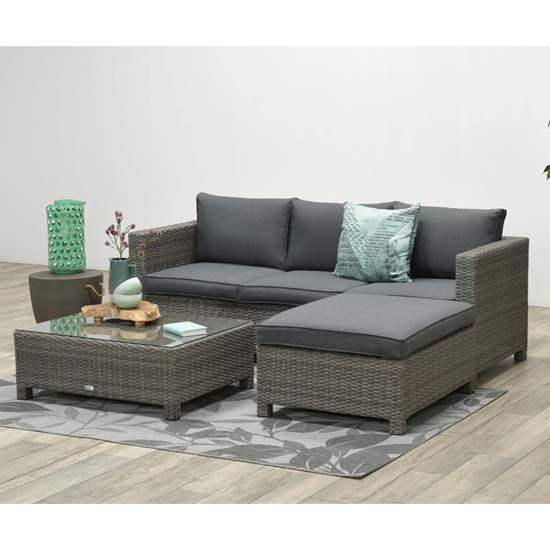 Rudesole Sofa Group With Coffee Table In Organic Grey_3