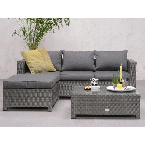 Rudesole Sofa Group With Coffee Table In Organic Grey_1
