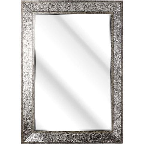 Sparkle Black Rustic Wall Mirror