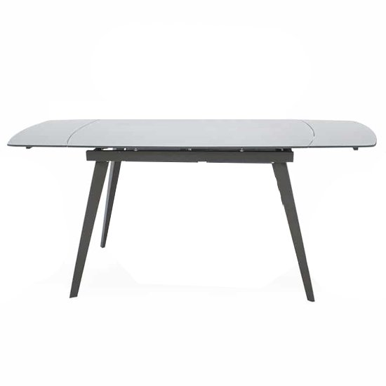 Sabina Extending Glass Dining Table In Grey_1