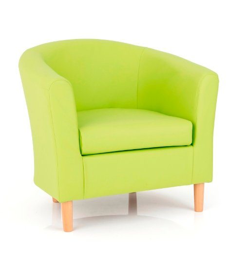 Salcombe upholstered faux lime tub chairs price comparison for Furniture in fashion