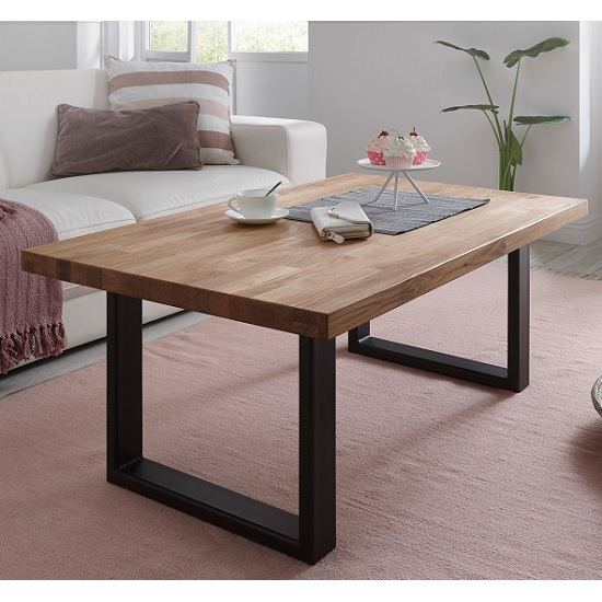 Salisbury Wooden Coffee Table Rectangular In Oak