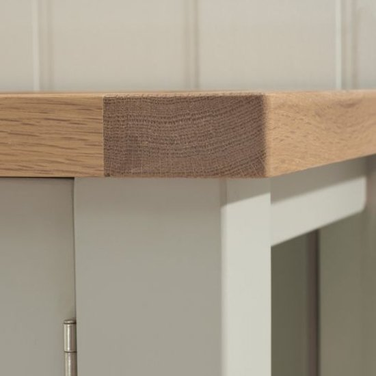 Sandringhia Wooden Display Unit In Oak And Grey_4