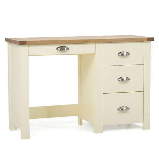Sandringhia Wooden Dressing Table In Oak And Cream_1