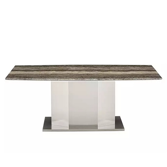 Santino Marble Coffee Table Rectangular In Travertine_4