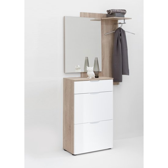 scalea white hallway - Stylish Furniture For Small Spaces Room By Room