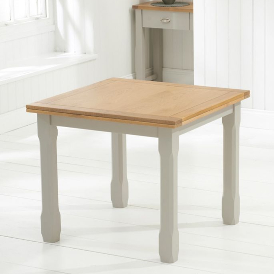 Schedar Flip Top Dining Table In Oak And Grey_3