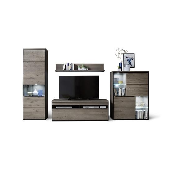 Living Room Furniture Seattle Seattle Living Room Furniture Set In Oak Grey With